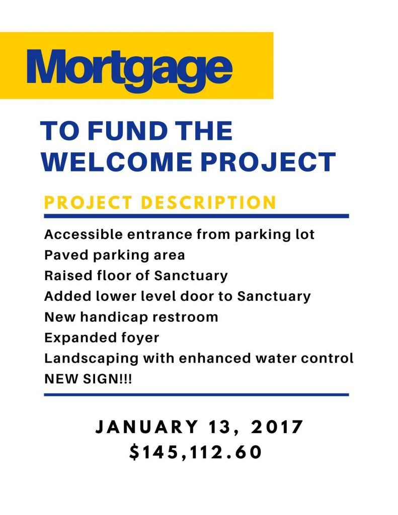 Project Description of mortgage of $145,112.60