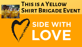 This is a Yellow-Shirt Brigade Event