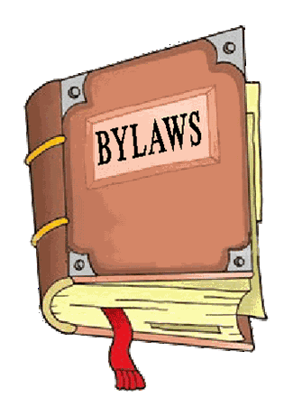clipart of bylaw book cover