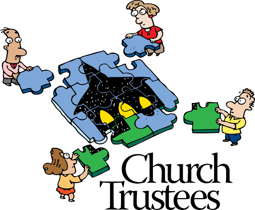 clip art church trustees putting together a puzzle